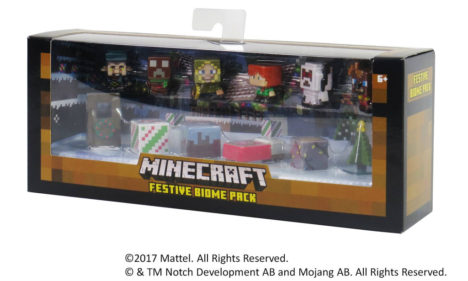 マテル、「Minecraft」のミニフィギュア新規2種を9月中旬に発売
