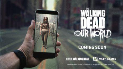 人気ソンビドラマシリーズ「ウォーキング・デッド」の位置ゲー「The Walking Dead:Our World」が近日リリース