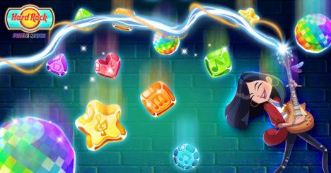 ハードロックカフェのスマホ向けパズルゲーム「Hard Rock Puzzle Match」がリリース