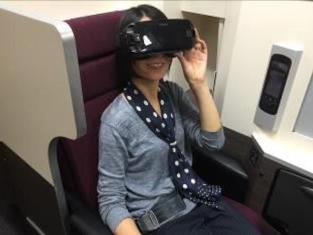 JALら4社、機内でのVRサービス実証実験を実施