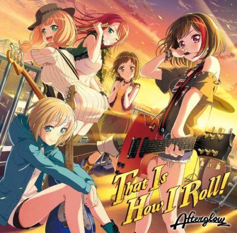 スマホ向けリズムゲーム「バンドリ! ガールズバンドパーティ!」、オリジナルバンドAfterglowの1stシングル「That Is How I Roll!」をリリース