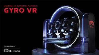 スホ、世界初の360度回転するVRデバイス「GYRO VR」を東京ゲームショウ2017で公開