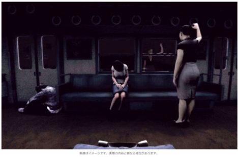 【TGS2017】一度乗ったら逃げ出すことは不可能…VRお化け屋敷「呪刻列車」に乗ってみた