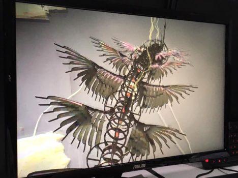 【TGS2017】機械仕掛けの鳥になって退廃的なスチームパンク世界を飛び回れるVR飛行アクションゲーム「MARE」
