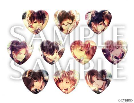 モバイル恋愛ゲーム「イケメン王宮」シリーズのネックレス&リングが10/10に発売