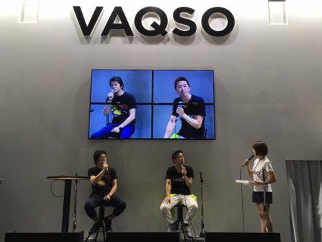 【TGS2017】臭覚VRデバイス「VAQSO」のブースにて香り付きの「乖離性ミリオンアーサー VR」をプレイ 「香りに立体感がある」という新感覚コンテンツに進化