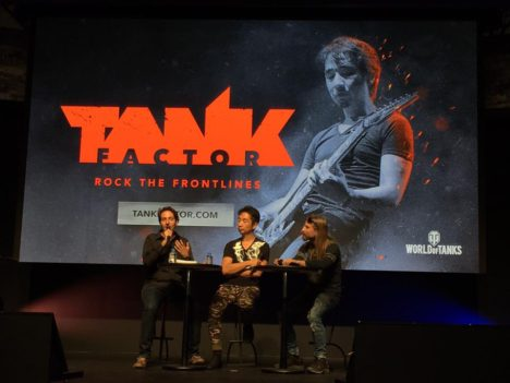 【TGS2017】メタラー大歓喜!Wargamingブースに山岡晃さんとウォーメタルバンドSABATONのメンバー登場 プロジェクト「Music 2.0」の新情報を公開