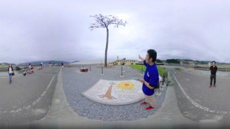 TOHOKU360、岩手県陸前高田市の被災地の現状を伝える360度VR動画を制作し「青山祭」に出展
