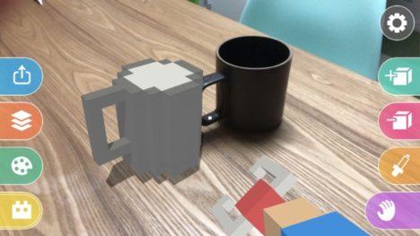 ViRD、モデリングARアプリ「Makebox AR」のiOS版をリリース