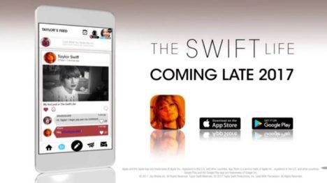 Glu Mobile、シンガーのテイラー・スウィフトのSNSアプリ「The Swift Life」を開発