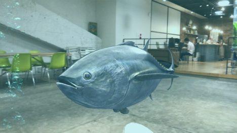 アララ、魚の魚の形・大きさ・動きを学べる教育ARアプリ「AR TOUR ~OCEAN~」を開発 AppleのARKitを活用