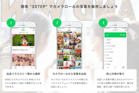 カメラロールにある日常の写真を販売できるアプリ「Selpy」のβ版がリリース