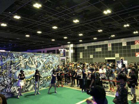 ARスポーツ「HADO」の体験施設の旗艦店がシンガポールにオープン