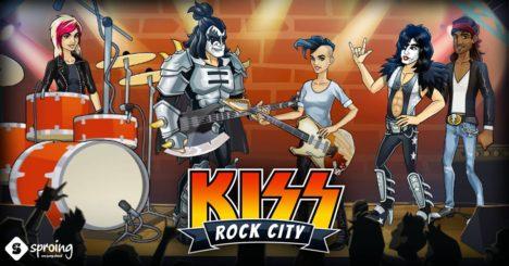 重鎮ロックバンド「KISS」の公式スマホゲーム「KISS Rock City」のテスト配信がオーストリアとアイルランドにて実施中
