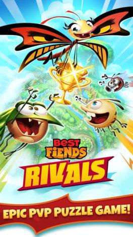 フィンランドのモバイルゲームディベロッパーのSeriously、「Best Fiends」シリーズの最新作「Best Fiends Rivals」をテスト配信
