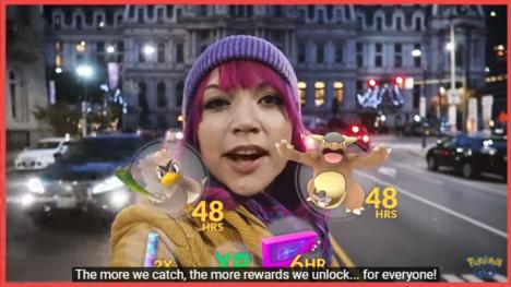 ポケモンをGETすればするほど特典が増える! 「Pokémon GO」にてグローバルチャレンジが開催