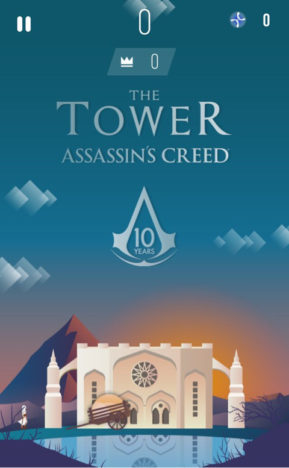 【やってみた】雰囲気の良い「アサシンクリード」シリーズ10周年記念カジュアルゲーム「The Tower Assassin's Creed」