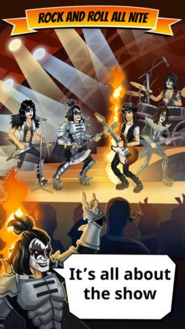 重鎮ロックバンド「KISS」の公式スマホゲーム「KISS Rock City」が全世界で配信開始