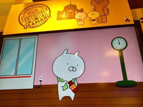 【レポート】目印は店頭のぐうかわスタチュー! 東京駅一番街にて開催中の「TOKYO STATION うさまる POP UP STORE」を見てきた