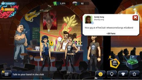 【やってみた】ロックに魂を売れ!金を稼いでグルーピーとヤれ! 重鎮ロックバンド「KISS」の公式スマホゲーム「KISS Rock City」