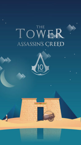 Ubisoft、「アサシンクリード」シリーズの10周年記念モバイルゲーム「The Tower Assassin's Creed」をリリース