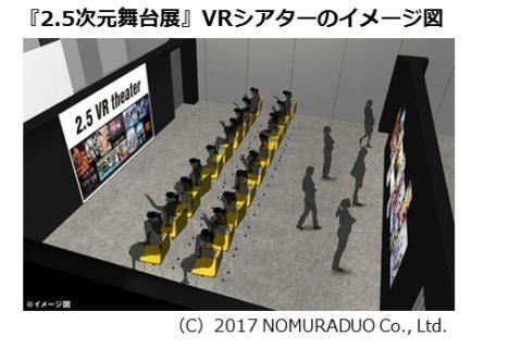 クリーク・アンド・リバー社、「2.5次元舞台展」VRシアターにスタンドアロン型VR HMD「IDEALENS K2+」を提供
