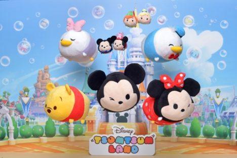 ディズニーの「ツムツム」の世界累計販売個数が4000万個を突破 新作パズルゲーム「ディズニー ツムツムランド」は300万ユーザー