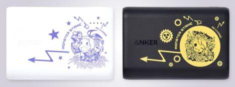 モバイルバッテリーのAnkerとモンストがコラボ モンスト人気キャラクター「パンドラ」「ウリエル」デザインのAnker製品2種が販売開始