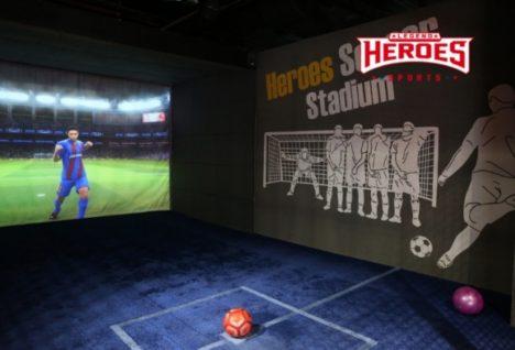 大型スクリーン、VR、ARを駆使する体験型アミューズメントのブランド「レジェンドスポーツヒーローズ」始動