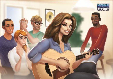 英モバイルゲームディベロッパーのSupersolid、看板タイトルの「Home Street」にてシンガーのシャナイア・トゥエインとコラボ