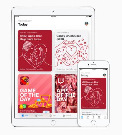 Apple、エイズと闘うチャリティキャンペーン「(RED)」のこれまでの取り組みを発表