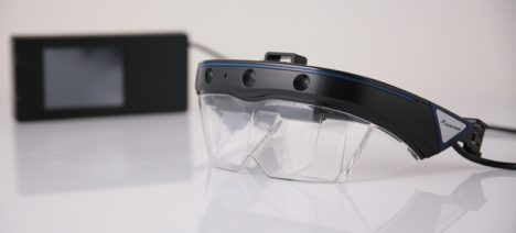 サン電子、ARスマートグラス「AceReal One」を使用した業務ソリューションを「第4回ウェアラブルEXPO」に出展
