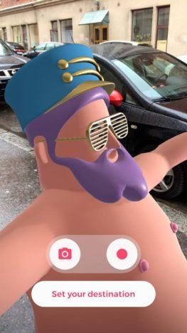 【やってみた】なぜそのキャラにした? 海パン姿の小太りなオッサンがARで道案内してくれるアプリ「HotStepper」