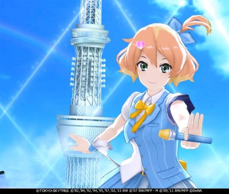 「マクロス」シリーズ初の音ゲー「歌マクロス スマホDeカルチャー」が東京スカイツリーとコラボ 「ARモード」も追加予定