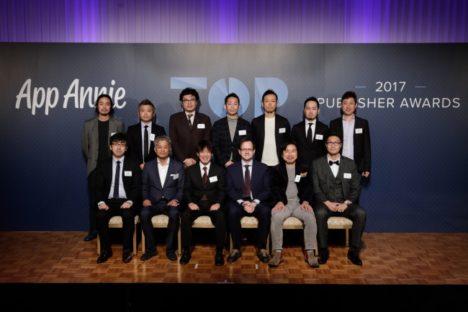 App Annie、2017年世界アプリパブリッシャーランキングTOP52社を発表 日本企業は15社がランクイン