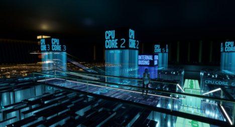 Linden LabのソーシャルVR「Sansar」、CES 2018に合わせIntelとのコラボエリアをオープン