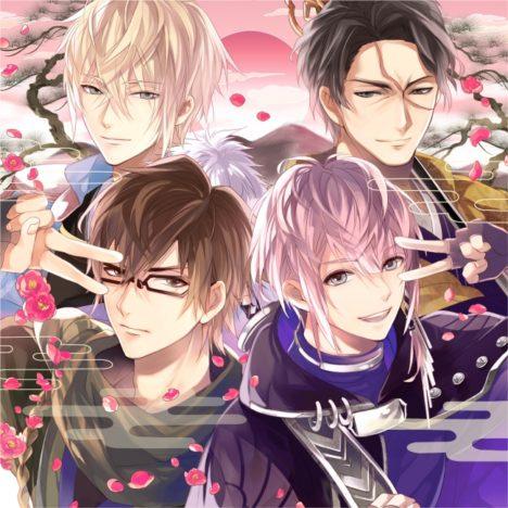 モバイル恋愛ゲーム「イケメン戦国◆時をかける恋」、キャラクターソング&ドラマCD第四弾を4/25にリリース