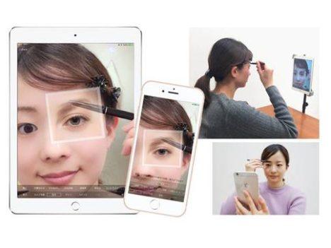 桃谷順天館、なりたい顔を重ねてなぞるARメイクアプリ 「トレミラ」を1/23にリリース
