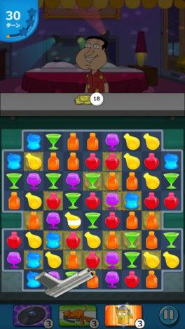 【やってみた】アニメ「ファミリーガイ」のパズルゲーム「ファミリーガイ:こんなパズルゲーム狂ってるぜ!」がAppleのアプリ審査に喧嘩を売っている件