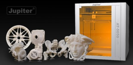 APPLE TREE、中国FLASHFORGEの大型3Dプリンタ「Jupiter」シリーズの日本向け販売を開始