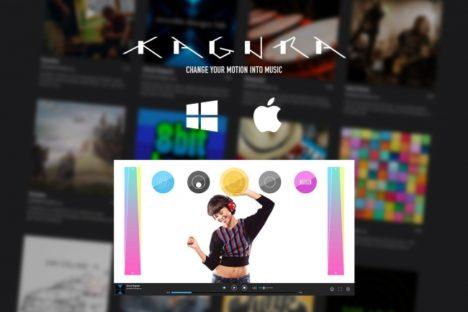 しくみデザイン、新世代AR楽器ソフト「KAGURA」の演奏を体験できる「KAGURA Player」を発表