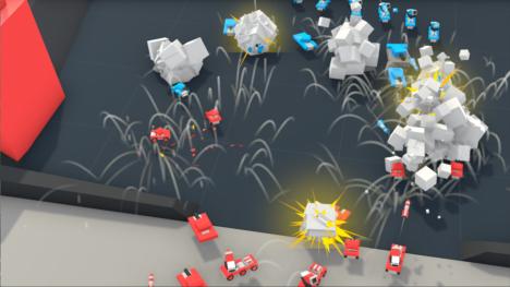 おもちゃの戦車を作って投げ込むVR戦車対戦ゲーム「Combine War Toys」が台北ゲームショウ2018に出展