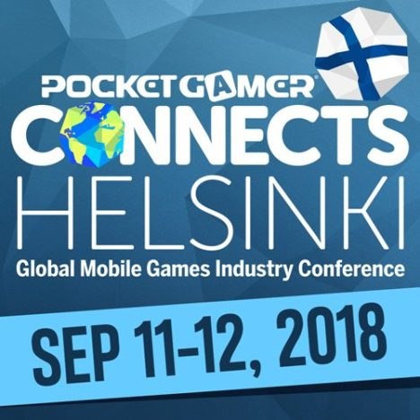9/11~12、フィンランド・ヘルシンキにてモバイルゲームのカンファレンスイベント「Pocket Gamer Connects Helsinki 2018 」開催