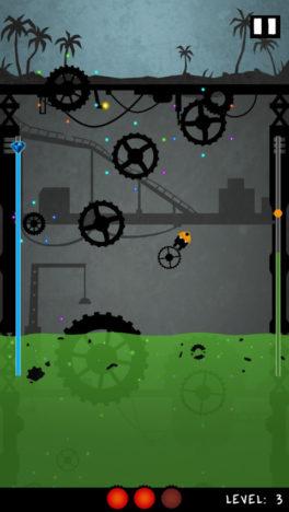 """【やってみた】迫り来る""""酸""""から逃げ切れ!歯車を飛び移って廃坑からの脱出を目指すアクションゲーム「Gear Miner」"""