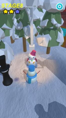 【やってみた】人間や障害物を乗り越え彼女が待つ場所を目指せ! 雪だるまのステルスアクションゲーム「雪だるまさんがころんだ」