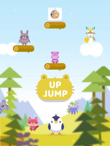コーラス・ワールドワイド、アーケードタイプのiOS向けジャンプゲーム「Up Jump」をリリース