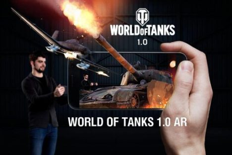 Wargaming、GoogleのARCoreを活用したスマホ向けARアプリ「World of Tanks AR Experience」をリリース