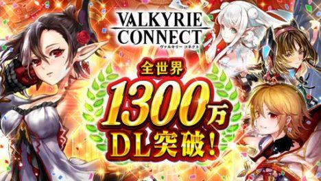 スマホ向けRPG「ヴァルキリーコネクト」、1200万ダウンロードを突破