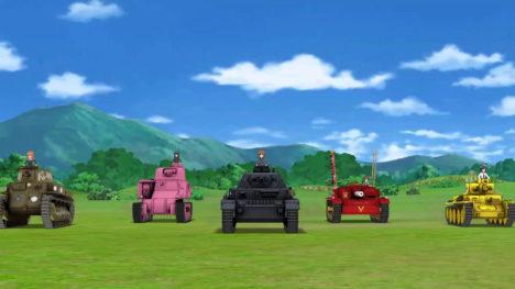 ガルパンの新作スマホゲーム「ガールズ&パンツァー あつまれ!みんなの戦車道!!」の事前登録受付がスタート