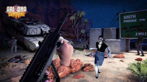 PS VR向けゾンビシューティングゲーム「アリゾナ・サンシャイン」の日本版が発売決定
